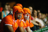 23-9-06,Leiden, Daviscup Netherlands-Tsjech Republic, disaponted Dutch fans after loosing
