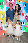 "WEST HOLLYWOOD - JUN 15: Ian Ziering, Erin Ziering, Mia Ziering, Penna Ziering at the ""At Home with the Zierings"" Blog Launch Party at Au Fudge on June 15, 2016 in West Hollywood, California"