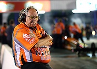 Apr 25, 2014; Baytown, TX, USA; NHRA team owner Connie Kalitta during qualifying for the Spring Nationals at Royal Purple Raceway. Mandatory Credit: Mark J. Rebilas-USA TODAY Sports
