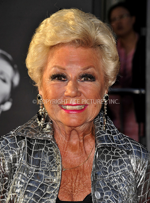 WWW.ACEPIXS.COM......April 25, 2013, Los Angeles, CA.....Mitzi Gaynor arriving at the 2013 TCM Classic Film Festival Opening Night Gala screening of 'Funny Girl' at the TCL Chinese Theatre on April 25, 2013 in Hollywood, CA.............By Line: Peter West/ACE Pictures....ACE Pictures, Inc..Tel: 646 769 0430..Email: info@acepixs.com