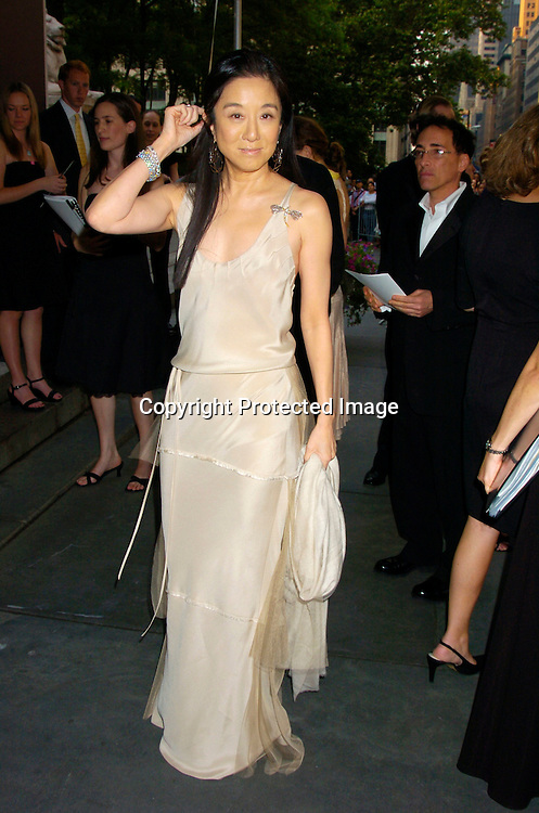 Vera Wang ..at the  2004 CFDA Fashion Awards on June 7, 2004 at ..The New York Public Library.                                           Photo by Robin Platzer, Twin Images