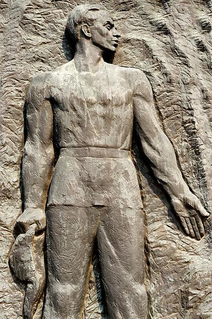Szamuely Tibor memorial - Memento Sculpture Park ( Szobaopark ) Budapest, Hungary