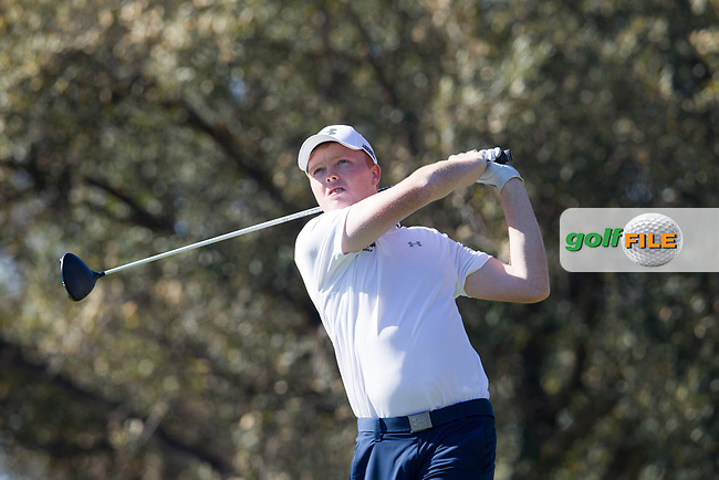 Robin Dawson (IRL) during the 1st round of the European Nations Cup, Real Club de Golf Sotogrande, Paseo del Parque, 11310 Sotogrande, C&aacute;diz  29/03/2017.<br /> Picture: Golffile | Fran Caffrey<br /> <br /> <br /> All photo usage must carry mandatory copyright credit (&copy; Golffile | Fran Caffrey)