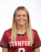 STANFORD, CA - August 16, 2019: Rose Winter on Field Hockey Photo Day.
