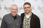 John Kandor and Greg Pierce attends the photocall for the Vineyard Theatre production of 'Kid Victory' at Ripley Grier on January 5, 2017 in New York City.