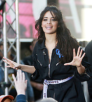 NEW YORK, NY - SEPTEMBER 29:  Camila Cabello performs on NBC's Today Show Citi Concert Series in New York City on September 29, 2017. Credit: RW/MediaPunch