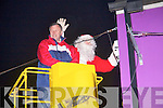 Santa turning on the xmas lights in Abbeyfeale on Sunday   Copyright Kerry's Eye 2008