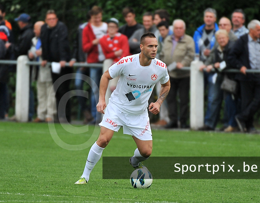 KV Kortrijk - SV Kortrijk : Maxime Chanot<br /> foto VDB / Bart Vandenbroucke