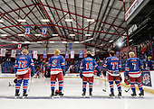 Brooks, AB - May 14 2019 - Portage Terriers vs. Oakville Blades during the 2019 National Junior A Championship at the Centennial Regional Arena in Brooks, Alberta, Canada (Photo: Matthew Murnaghan/Hockey Canada)