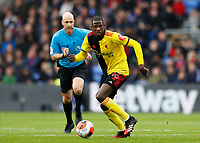 7th March 2020; Selhurst Park, London, England; English Premier League Football, Crystal Palace versus Watford; Abdoulaye Doucoure of Watford