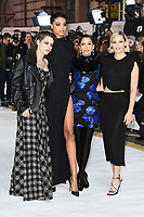 "LONDON, UK. November 20, 2019: Kristen Stewart, Ella Balinska, Naomi Scott and Elizabeth Banks arriving for the ""Charlie's Angels"" premiere at the Curzon Mayfair, London.<br /> Picture: Steve Vas/Featureflash"