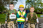 Enjoying the Fancy Dress fun Run in the park on Saturday were Charlie McDermott, Jack Boyle and Sonny McDermott