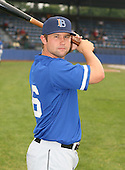 July 14th, 2007:  Wally Crancer of the Aberdeen Ironbirds, Class-A Short-Season affiliate of the Baltimore Orioles, poses before a game vs the Jamestown Jammers in New York-Penn League action.  Photo Copyright Mike Janes Photography 2007.