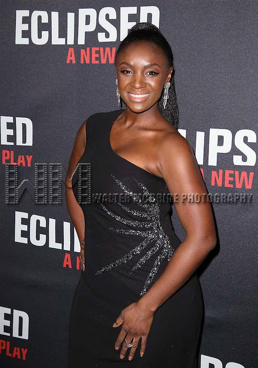 Saycon Sengbloh attends the 'Eclipsed' broadway opening night after party at Gotham Hall on March 6, 2016 in New York City.
