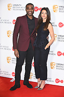 Ore Oduba and Michelle Keegan<br /> at the announcement of the nominations for the BAFTA TV Awards 2018, London<br /> <br /> ©Ash Knotek  D3390  04/04/2018