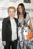 May 21, 2012 Carolina Herrera and Patricia Velasquez at the 10th Anniversary gala of the Wayuu Taya Foundation at the Dream Downtown Hotel in New York City. Credit: RW/MediaPunch Inc.