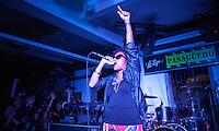 CIUDAD DE MÉXICO, septiembre 5, 2014. La cantante Arianna Puello  durante su concierto en el Pasagüero de la Ciudad de México, el 05 de septiembre de 2014. FOTO: ALEJANDRO MELÉNDEZ