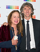 Damian Woetzel, retired Principal Dancer with the New York City Ballet, and his wife, Heather Watts arrive for the formal Artist's Dinner honoring the recipients of the 38th Annual Kennedy Center Honors hosted by United States Secretary of State John F. Kerry at the U.S. Department of State in Washington, D.C. on Saturday, December 5, 2015. The 2015 honorees are: singer-songwriter Carole King, filmmaker George Lucas, actress and singer Rita Moreno, conductor Seiji Ozawa, and actress and Broadway star Cicely Tyson.<br /> Credit: Ron Sachs / Pool via CNP