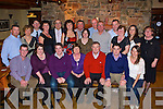 Tom Curran Killorglin seated third from right celebrated his 60th birthday with his family and friends in the Beaufort Bar on Saturday night   Copyright Kerry's Eye 2008