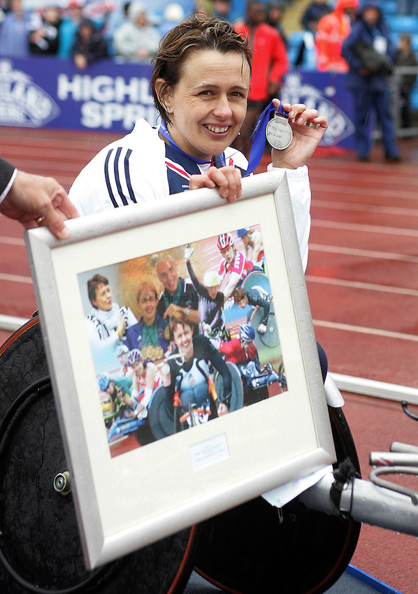 Photo: Paul Thomas..VISA Paralympic World Cup 2007. Athletics. 13/05/2007...Tanni Grey Thompson of Great Britain.