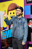 "LOS ANGELES - FEB 2:  Charlie Day at ""The Lego Movie 2: The Second Part"" Premiere at the Village Theater on February 2, 2019 in Westwood, CA"