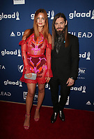 BEVERLY HILLS, CA - APRIL 12: Jennifer Akerman, Tom Payne, At the 29th Annual GLAAD Media Awards at The Beverly Hilton Hotel on April 12, 2018 in Beverly Hills, California. <br /> CAP/MPI/FS<br /> &copy;FS/MPI/Capital Pictures