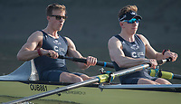 Putney, London,  Tideway Week, Championship Course. River Thames,  Oxford UBC.Left,  Bow: William Warr , 2: Matthew O&rsquo;Leary, <br /> Tuesday  28/03/2017<br /> [Mandatory Credit; Credit: Peter Spurrier/Intersport Images.com ]