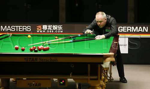 1st February 2019, Berlin, Germany; Snooker Berlin German Masters in Tempodrom;  John Higgins