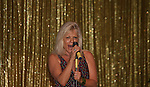 One Life To Live's Ilene Kristen performs with her band at We Love Soaps Weekend on  May 21 and May 22 2010 at Villa Roma Resort in Callicoon, New York. (Photo by Sue Coflin/Max Photos)