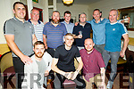 Jonathan Galvin from Balloonagh Estate celebrating his stag in the Brogue Inn on Saturday night<br /> Front l to r: Darren Young,  Jonathan Galvin and Aidan Murphy.<br /> Back l to r: Nathan Sutton, Donnacha and Clive Galvin, Kieran Murphy, Anton Staunton, Max Power and Trevor Galvin.