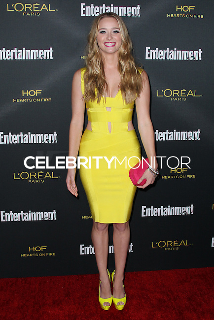 WEST HOLLYWOOD, CA, USA - AUGUST 23: Greer Grammer arrives at the 2014 Entertainment Weekly Pre-Emmy Party held at the Fig & Olive on August 23, 2014 in West Hollywood, California, United States. (Photo by Xavier Collin/Celebrity Monitor)