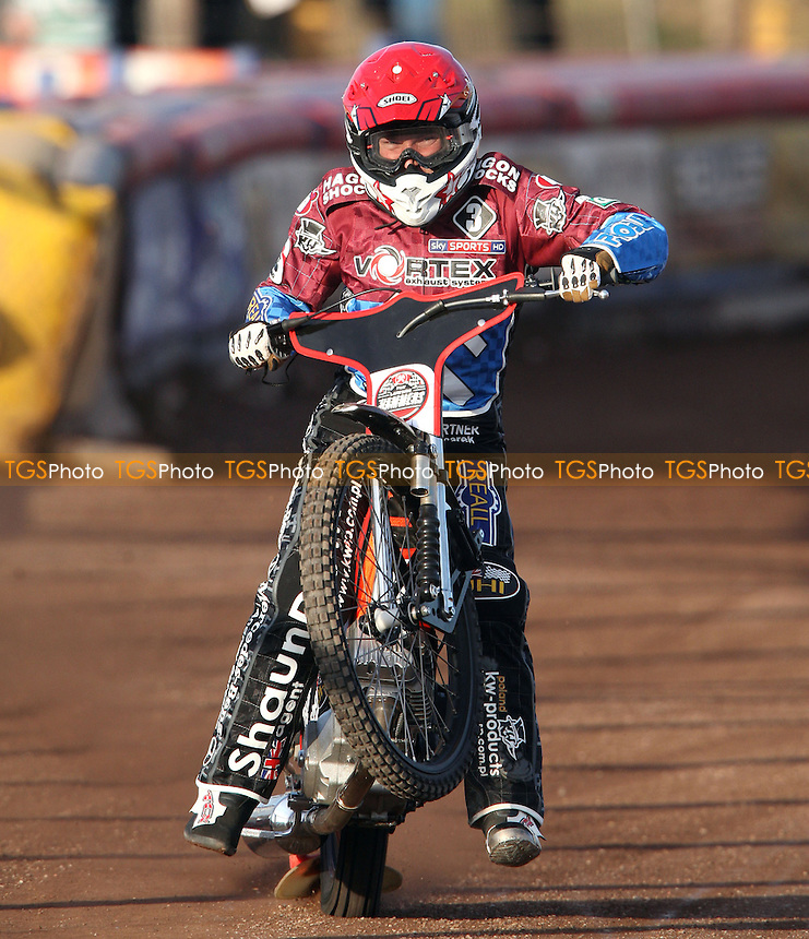 New Lakeside signing Seb Ulamek - Lakeside Hammers vs Coventry Bees, Elite League Speedway at the Arena Essex Raceway, Pufleet - 03/06/13 - MANDATORY CREDIT: Rob Newell/TGSPHOTO - Self billing applies where appropriate - 0845 094 6026 - contact@tgsphoto.co.uk - NO UNPAID USE