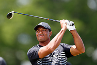 Tiger Woods (USA) tees off on the 9th hole during the second round of the 118th U.S. Open Championship at Shinnecock Hills Golf Club in Southampton, NY, USA. 15th June 2018.<br /> Picture: Golffile | Brian Spurlock<br /> <br /> <br /> All photo usage must carry mandatory copyright credit (&copy; Golffile | Brian Spurlock)
