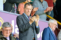 Burnley fan and former political aide Alastair Campbell applauds as the teams take to the field<br /> <br /> Photographer Alex Dodd/CameraSport<br /> <br /> The Premier League - Burnley v Bournemouth - Sunday 13th May 2018 - Turf Moor - Burnley<br /> <br /> World Copyright &copy; 2018 CameraSport. All rights reserved. 43 Linden Ave. Countesthorpe. Leicester. England. LE8 5PG - Tel: +44 (0) 116 277 4147 - admin@camerasport.com - www.camerasport.com