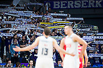 Real Madrid's supporters during the third match of the Liga Endesa Playoff at Barclaycard Center in Madrid. May 31. 2016. (ALTERPHOTOS/Borja B.Hojas)