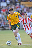 Mark Bloom...AC St Louis were defeated 1-2 by Austin Aztek in their inaugural home game in front of 5,695 fans at Anheuser-Busch Soccer Park, Fenton, Missouri.