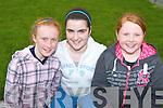COMMUNITY GAMES: Three of the competitor,s who took part in St Brendan's, Listellick Community Games on Thursday evening at Na Gaeil GAA Club grounds on Thursday evening l-r: Sadhbh Keating, Bateman's Green, Sarah-Jane Donovan and Emma Murry both from Listellick..   Copyright Kerry's Eye 2008