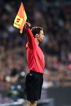 Assistant referee Fernando Tresaco Escabosa in action during the La Liga match between Real Madrid and RC Deportivo La Coruna at the Santiago Bernabeu Stadium on 10 December 2016 in Madrid, Spain. Photo by Diego Gonzalez Souto / Power Sport Images
