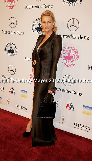 BEVERLY HILLS, CA - OCTOBER 20: Nicollette Sheridan arrives at the 26th Anniversary Carousel Of Hope Ball presented by Mercedes-Benz at The Beverly Hilton Hotel on October 20, 2012 in Beverly Hills, California.