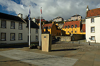 The Main Square in the historic village of Culross, Fife<br /> <br /> Copyright www.scottishhorizons.co.uk/Keith Fergus 2011 All Rights Reserved