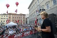 Roma, 5 Settembre 2015<br /> Piazza Farnese<br /> Festa della CGIL Roma e Lazio Piazza Bella Piazza<br /> Susanna Camusso.