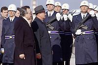 - Mikhail Gorbachev, President of the Soviet Union, on a state visit with the Italian prime minister Giulio Andreotti<br /> <br /> - Mikhail Gorbaciov, presidente dell'Unione Sovietica, in visita di stato col presidente del consiglio italiano Giulio Andreotti