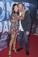 Tatum Chiniquy und Ian Ziering at the premiere of SyFy TV-Film Zombie Tidal Wave at the Garland Hotel in Los Angeles, California August 12, 2019. Credit: Action Press/MediaPunch ***FOR USA ONLY***
