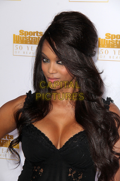 HOLLYWOOD, CA - January 14: Tyra Banks at the NBC And Time Inc. Celebrattion for the 50th Anniversary Of Sports Illustrated Swimsuit Issue, Dolby Theater, Hollywood,  January 14, 2014. <br /> CAP/MPI/JO<br /> &copy;Janice Ogata/MPI/Capital Pictures
