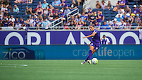 Orlando, FL - Sunday June 26, 2016: Monica Hickman Alves  during a regular season National Women's Soccer League (NWSL) match between the Orlando Pride and the Portland Thorns FC at Camping World Stadium.