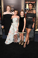 HOLLYWOOD, CA - AUGUST 7: Miranda Otto, Talitha Bateman, Lulu Wilson,001 Stephanie Sig at the Annabelle: Creation premiere at the TCL Chinese Theater in Hollywood , California on August 7, 2017. <br /> CAP/MPI/DE<br /> &copy;DE/MPI/Capital Pictures
