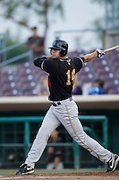 May 28 2009: Brian Rike of the Modesto Nuts during game against the Inland Empire 66'ers at Arrowhead Credit Union Park in San Bernardino,CA.  Photo by Larry Goren/Four Seam Images