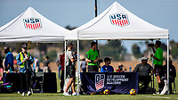 Oceanside, CA - November 03, 2017: The U.S. Soccer Development Academy 2017 U-13/U-14 West Regional Showcase at SoCal Sports Complex.