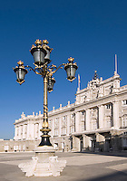 Spanien, Palacio Real (Königspalast) in Madrid