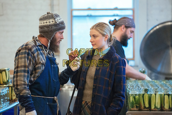 Maggie's Plan (2015) <br /> Travis Fimmel, Greta Gerwig <br /> *Filmstill - Editorial Use Only*<br /> CAP/KFS<br /> Image supplied by Capital Pictures